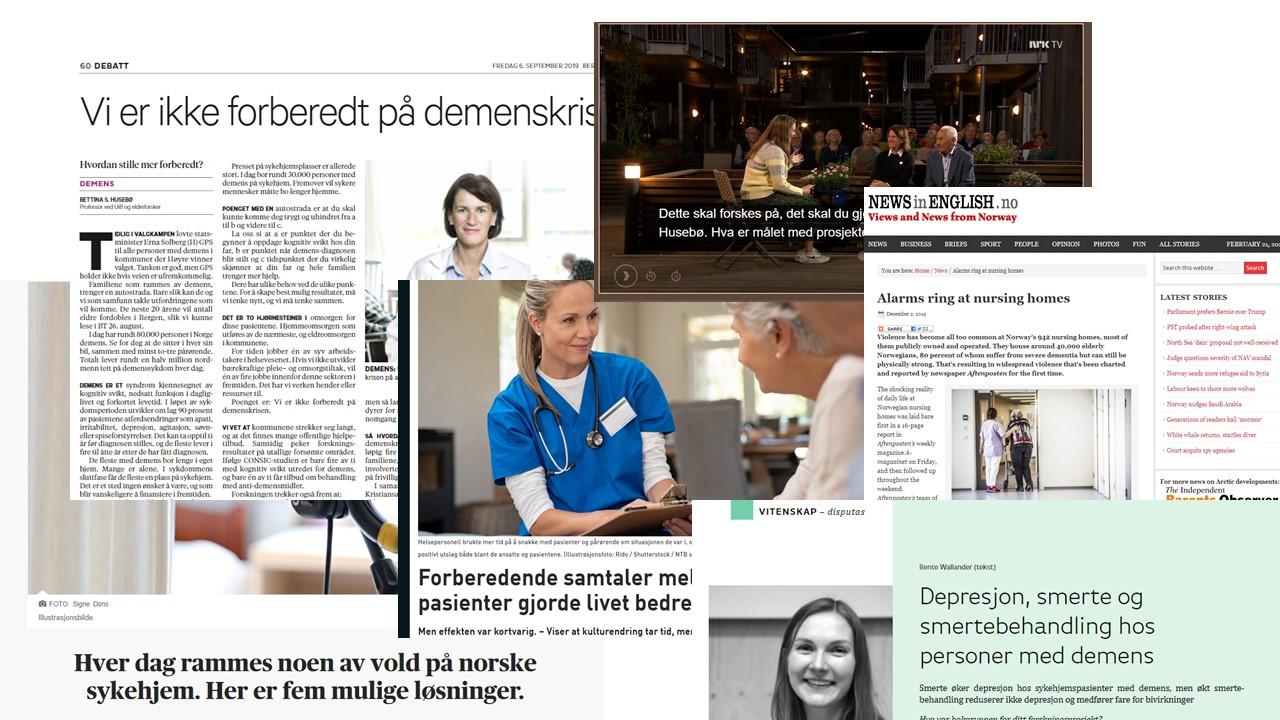 Populaervitenskapelige Bidrag Senter For Alders Og Sykehjemsmedisin Universitetet I Bergen