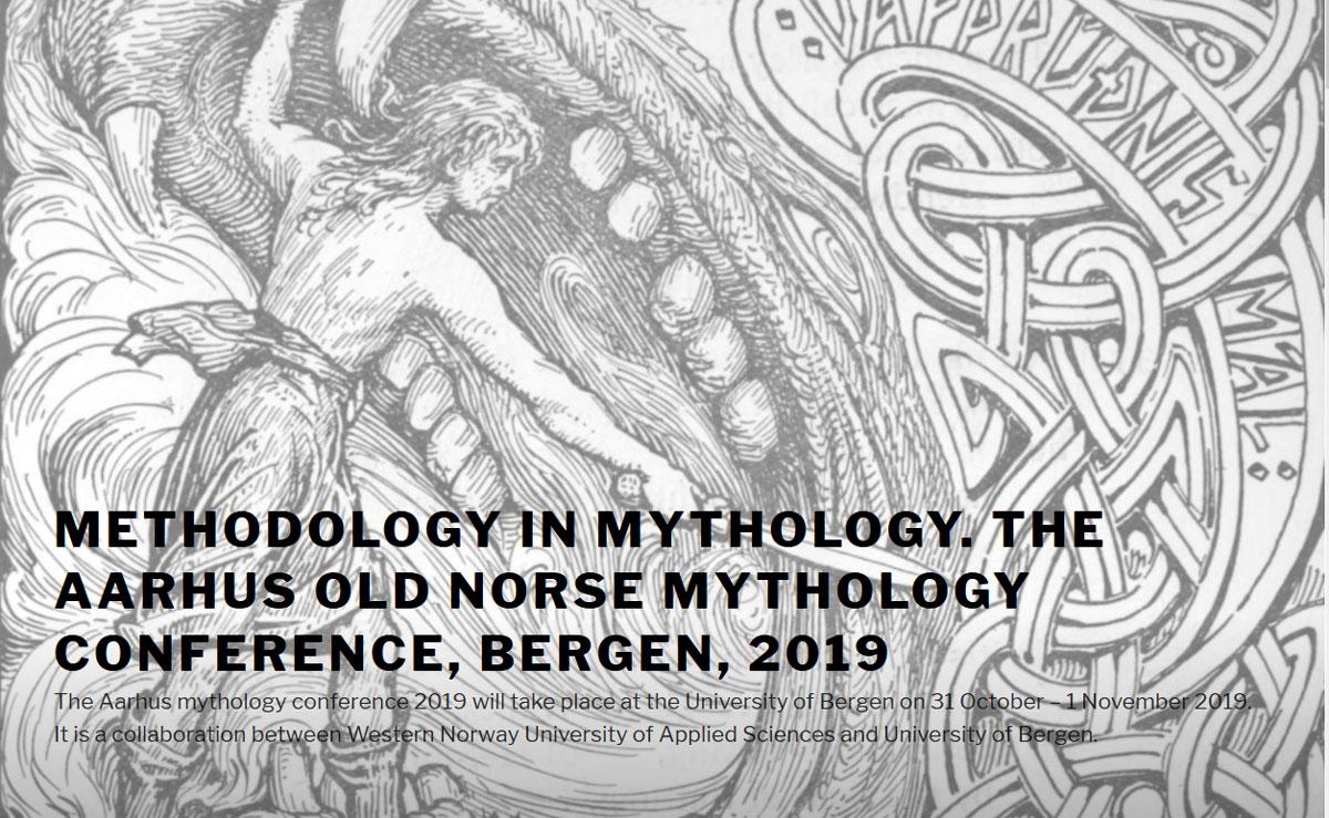 Methodology in Mythology  The Aarhus Old Norse Mythology