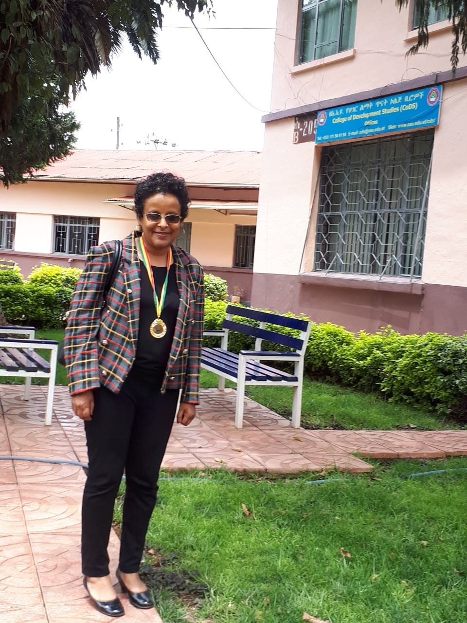 Award winner at Addis Ababa University | Global health anthropology