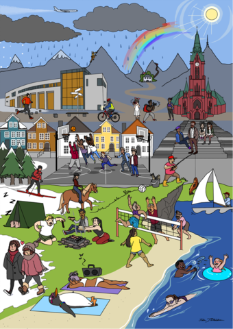 Norskkursene på Universitetet i Bergen
