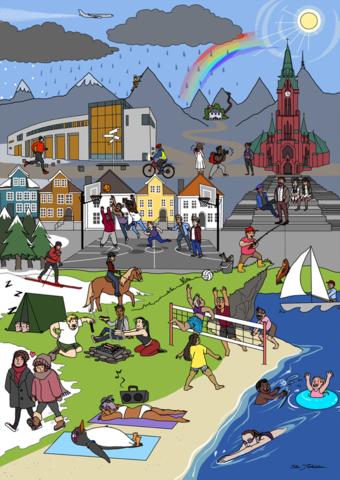 Aktivitetsbilde i Bergen