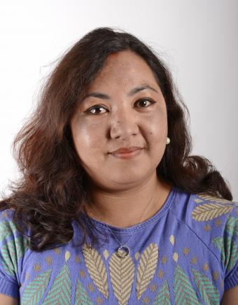 Portrettfoto Anjana Shresta