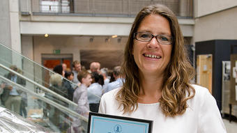 Camilla Krakstad awarded with the Falch Junior Prize for young researchers