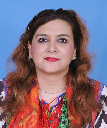 Portrettfoto Razia Kaniz Fatima