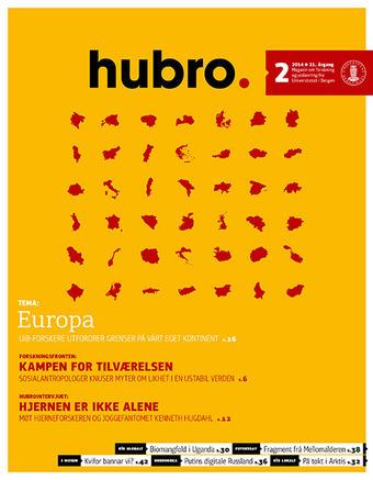 Forsiden på Hubro 02/2014.