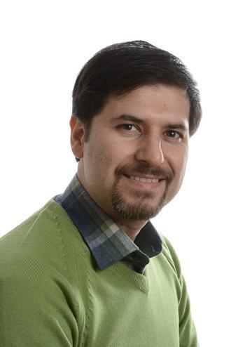 Portrettfoto Mohammad Vafaei