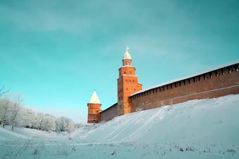 Bymuren i Novgorod