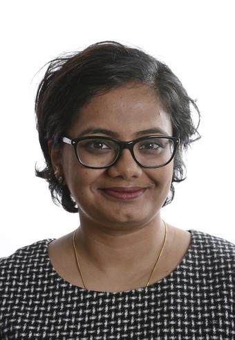 Portrett av Sandhya Tiwari