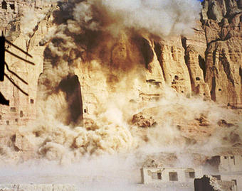 Destruction of the Buddhas of Bamiyan by the Taliban, 21 March 2001