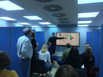 Workshop i Lyslaboratoriet