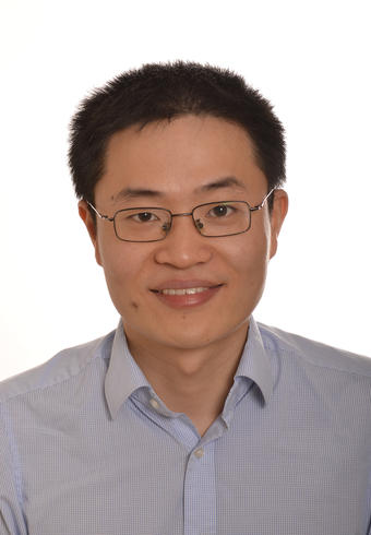 Portrettfoto Zhiyuan Ge