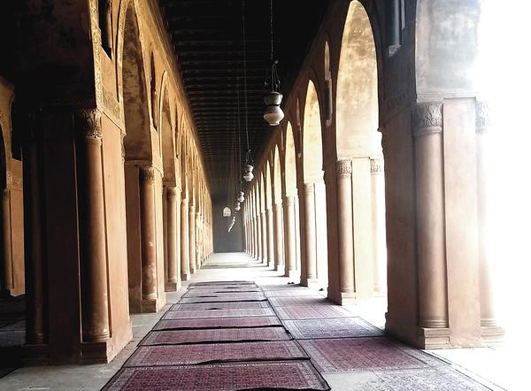 The Ibn Tulun mosque, Cairo