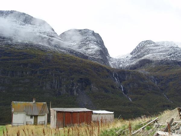 Foto fra Arktis av kunstner Gjert Rognli