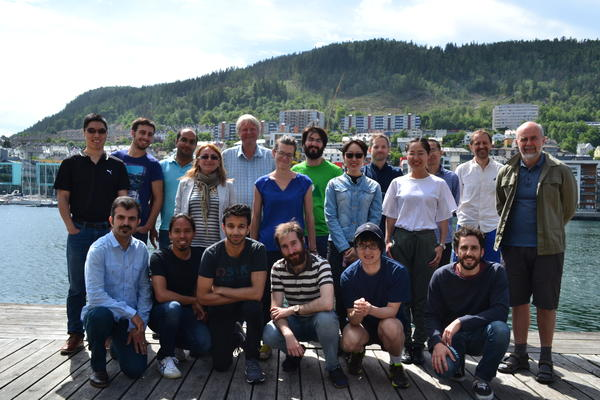 Group photo 1 of current members at Selmer Center