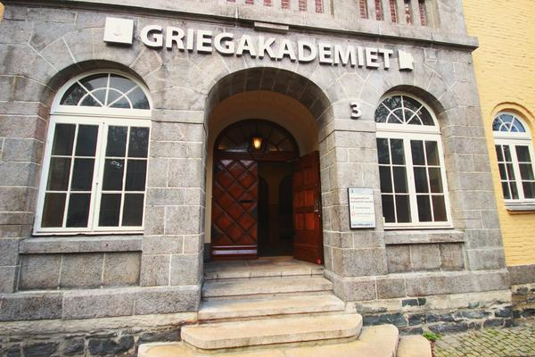 Illustrasjonsfoto av fasaden til griegakademiet