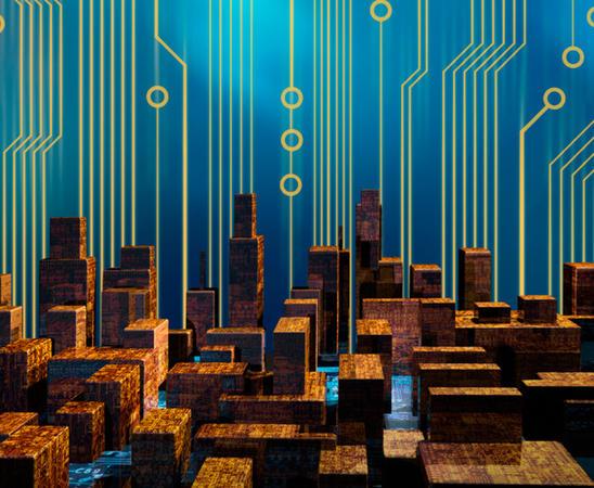Digital kultur illustrasjonsbilde