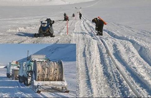 Arctic seismic acquisition image
