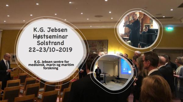 Høstseminar 2019 for K.G. Jebsen sentre for medisinsk, marin og maritim forskning