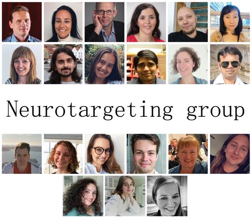 bilde av deltakere i neurotargeting group