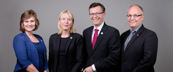 Rektoratet ved UiB 2017-2021