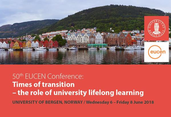 50th eucen conference 6-8 June 2018, University of Bergen, Norway