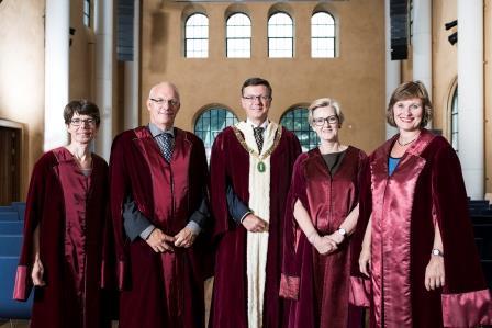 Rektoratet ved UiB (Foto:Thor Brødreskift)