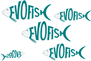 A school of EvoFish