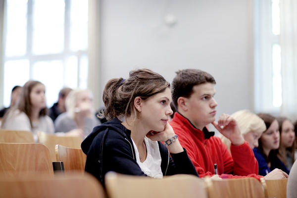 Students at the University of Bergen.