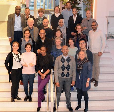 Bildet viser de personene som er med i forskningssgruppen