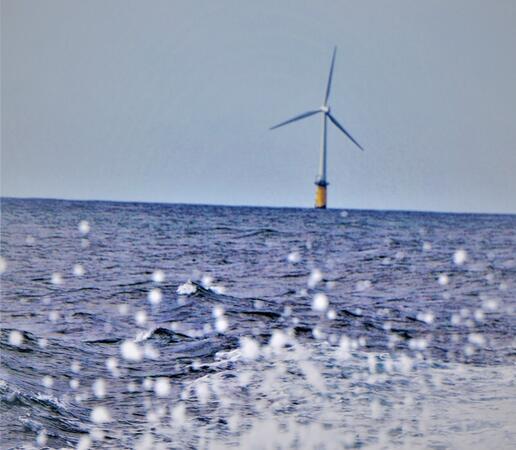 Bilde av havvindturbin