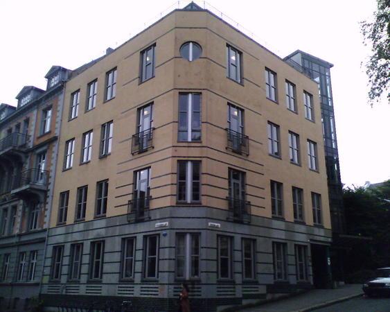 Bilde av kontorbygget i Christiesgt 18