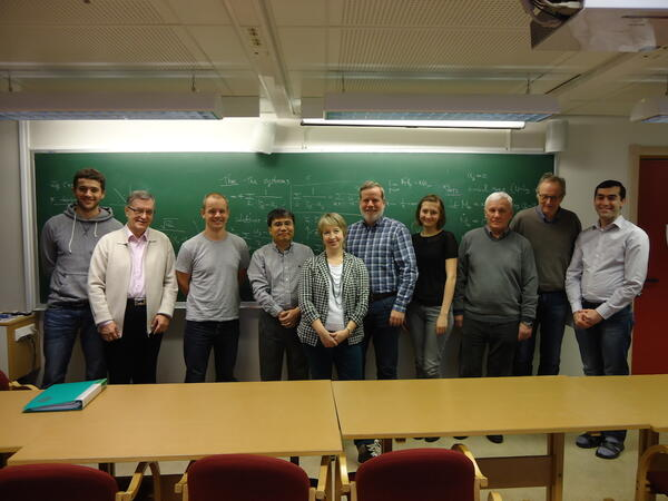 Participants of the Analysis Group in 2011