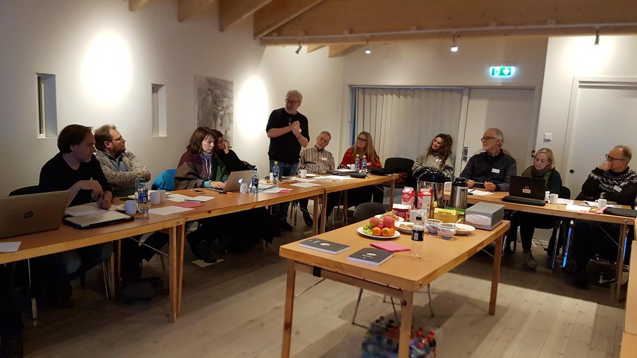 Oppstartsseminaret ble holdt på Middelaldermuseet på Borgund