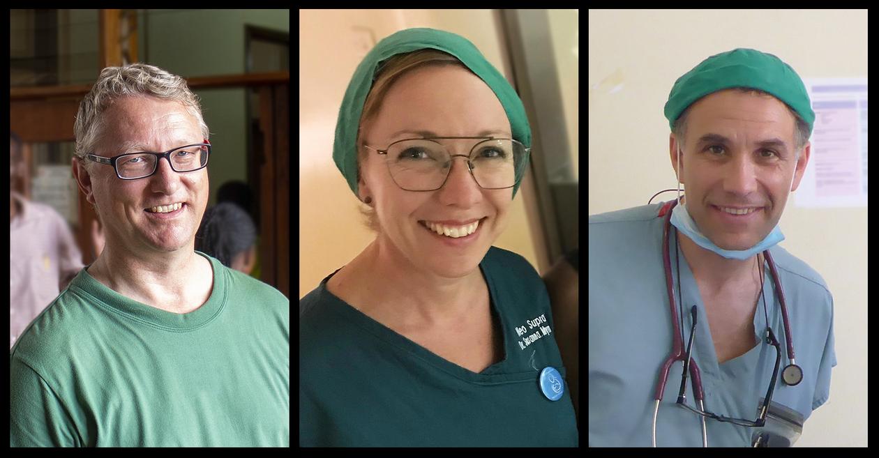 3 CIH doctors