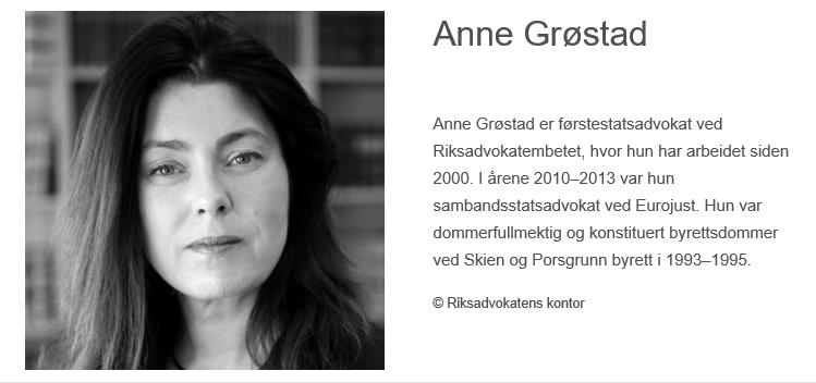 portrett av Anne Grøstad