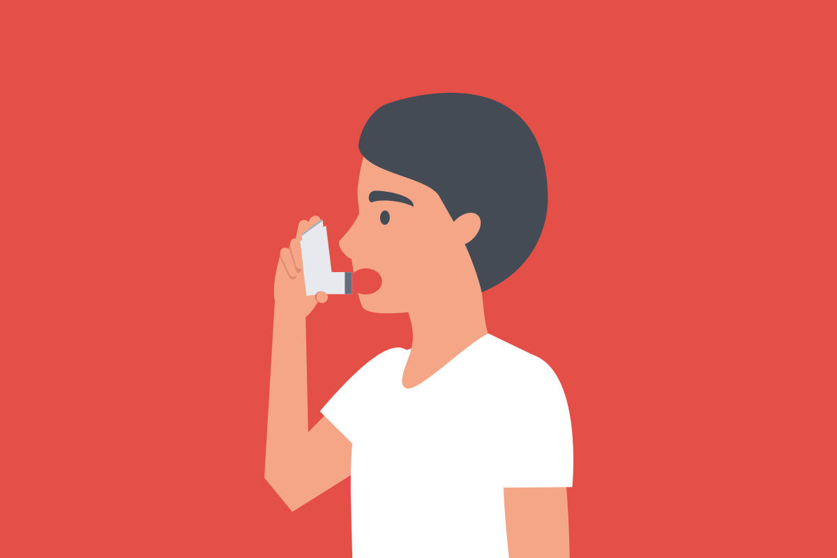Illustration asthma