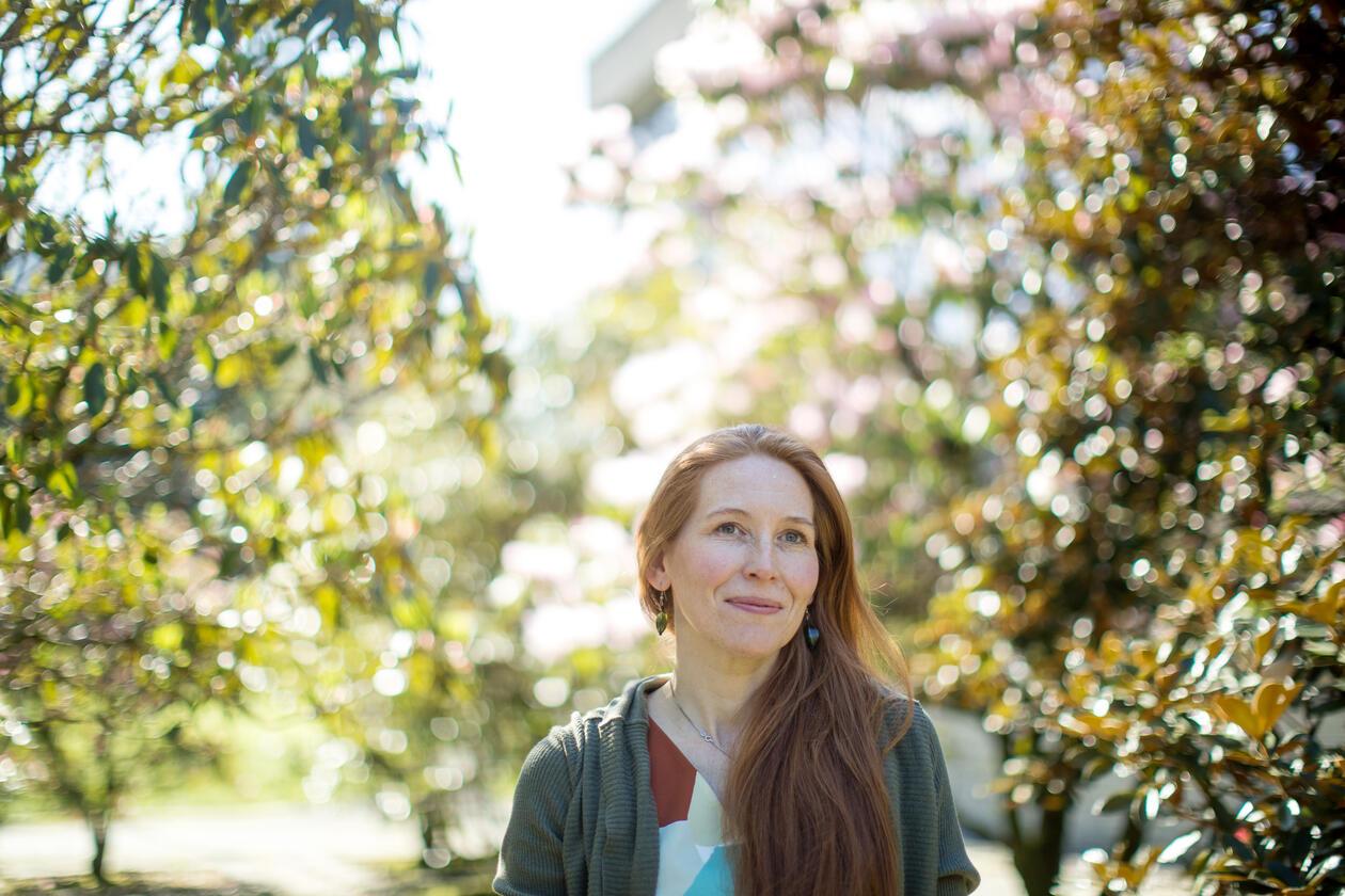 Sosialantropolog Synnøve Kristine Nepstad Bendixsen, portrettfoto.