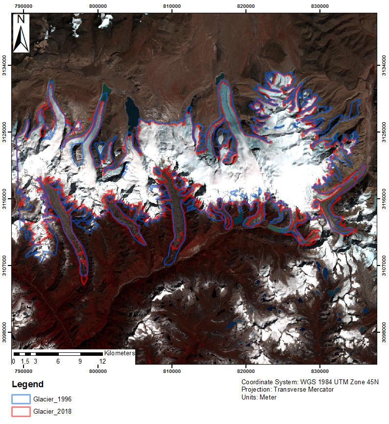 Bhutan glacier
