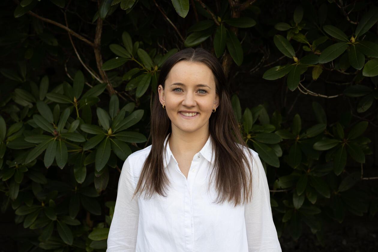Studentkandidat Gina Sørbye Larsen