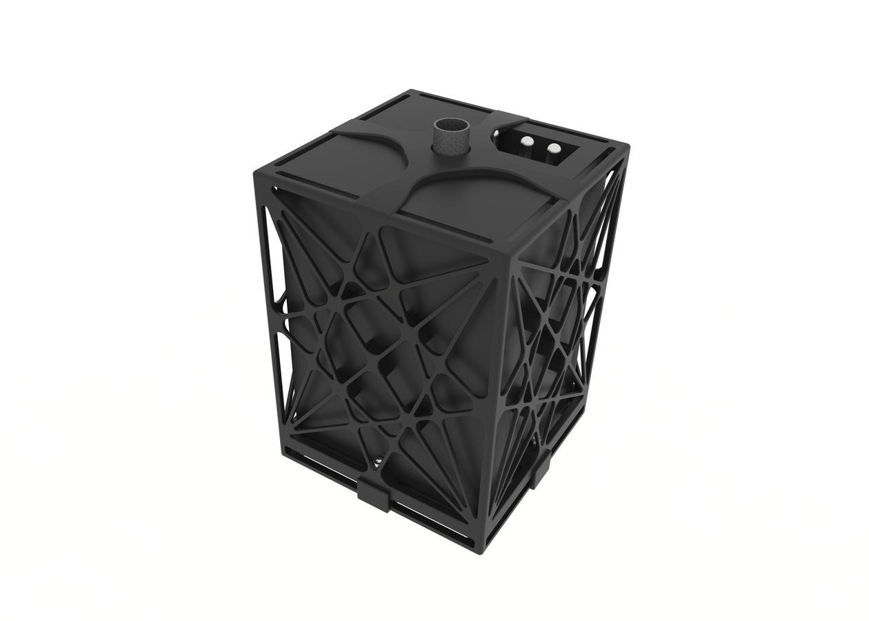 Nyttelasten Borealis. Designet og 3D-printet av Prototech i forbindelse med Starburstprosjektet