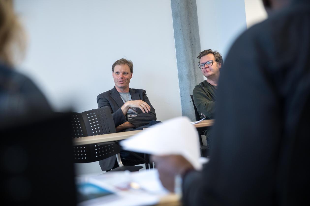 Asbjørn Grønstad og Øyvind Vågnes