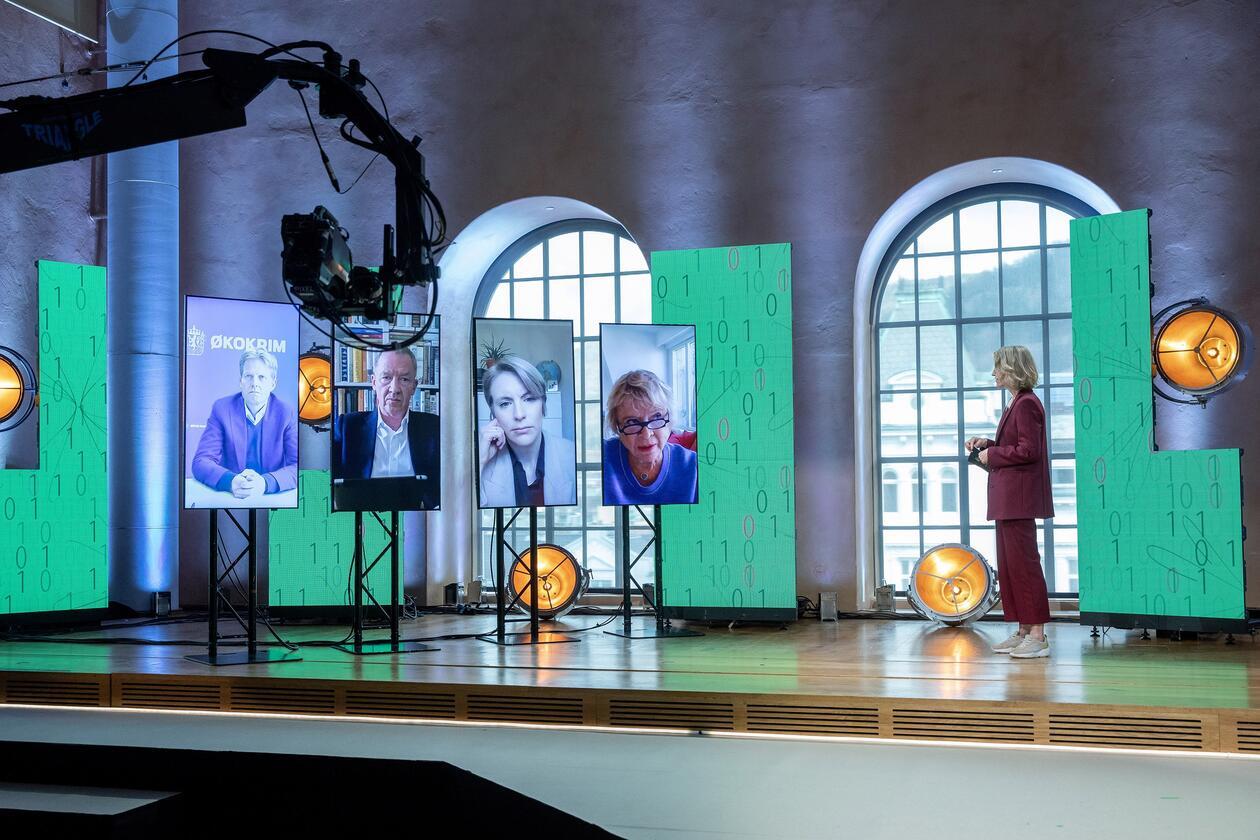 Christiekonferansen 2021 paneldebatt med Eva Joly