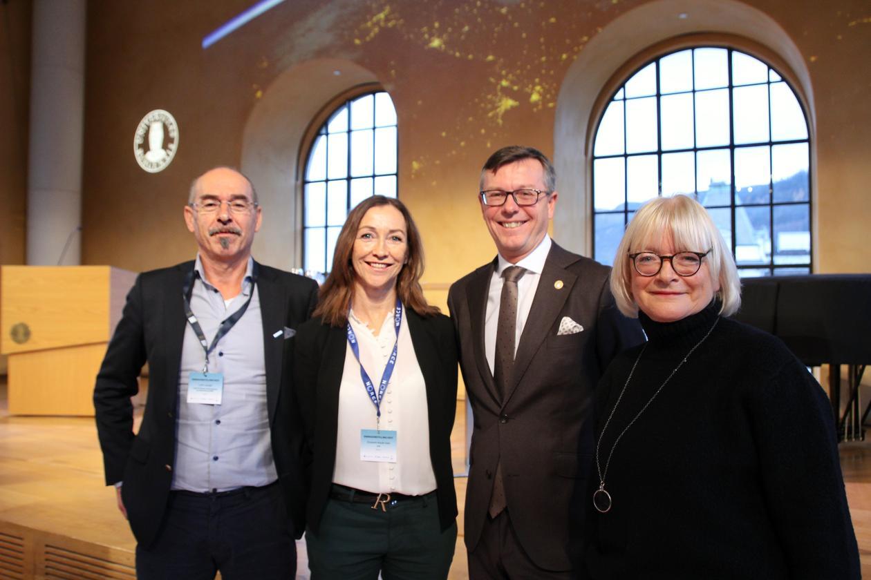 Leif K. Sandal, Elisabeth  Maråk Støle, Dag Rune Olsen, Berit Rokne.