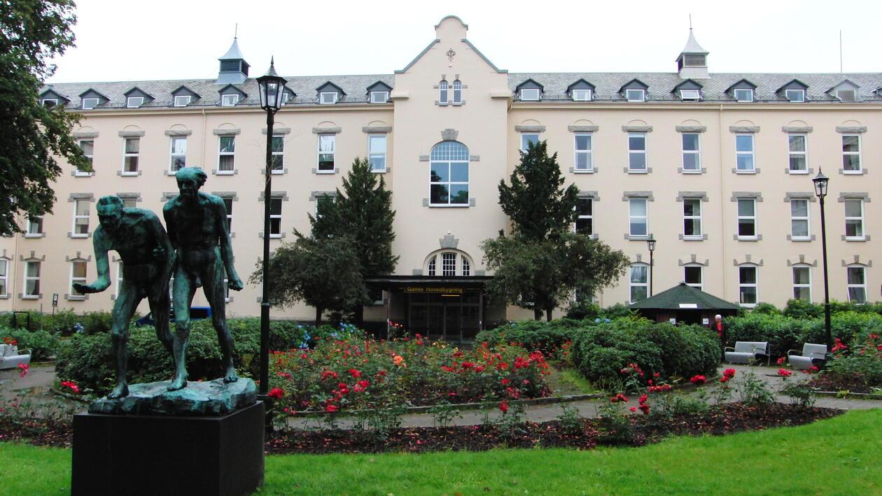 Gamle Hovedbygning Haukeland sykehus