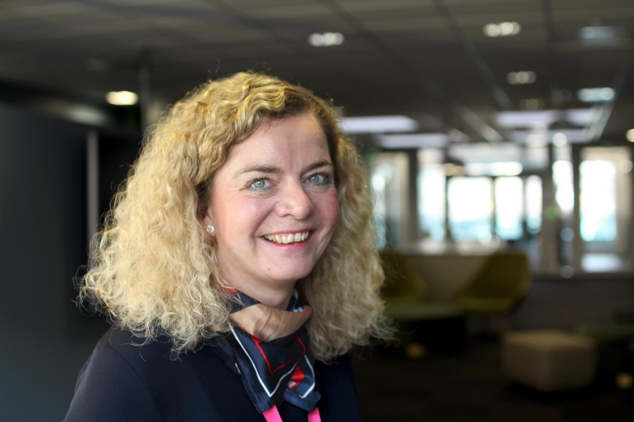 Tone Irene Gamlemshaug, divisjonsdirektør IT, DNB