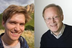 profilbilder av Christian Hauge Eide og Haflidi Haflidason