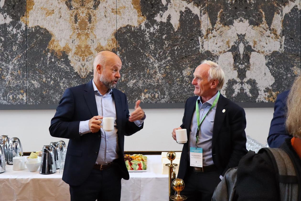 Jan Fredrik Stadaas, Equinor og Finn Gunnar Nielsen, UiB