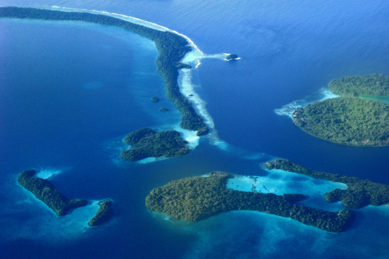 Marovo Lagoon, Salomon Islands