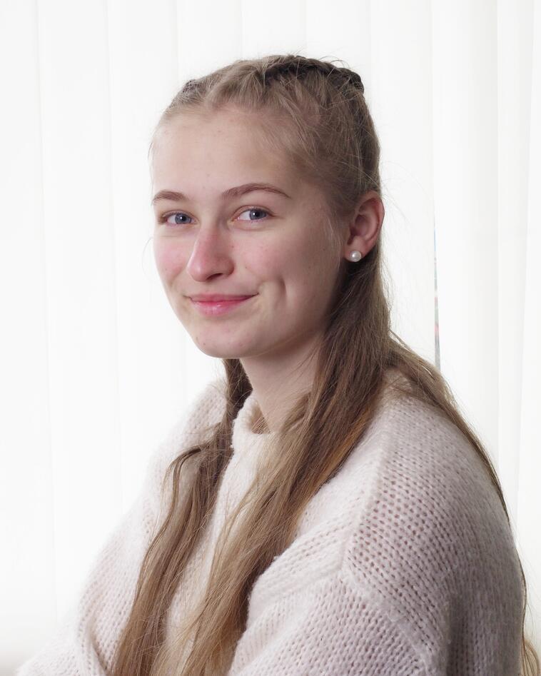Studentkandidat Ihne Selås Johansen