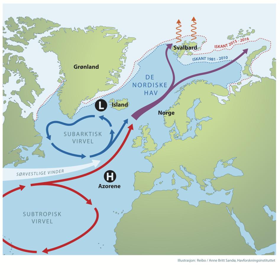 Kart hav